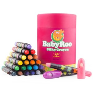 Baby Roo silky Crayons 24 Colour