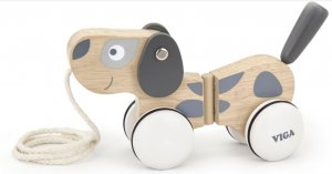 Wooden Pull A Long Puppy