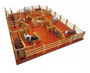 Station Cattle Yard No 8 Playset