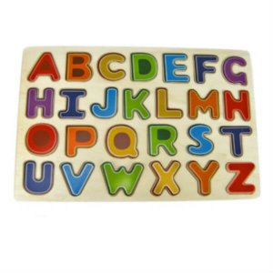 ALPHABET WOODEN TRAY PUZZLE