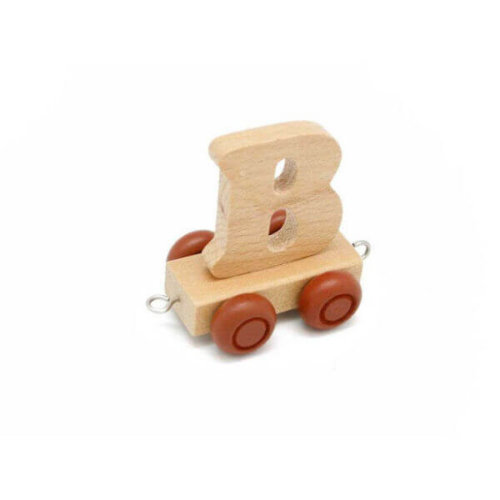 PERSONALISED WOODEN NAME TRAIN_B