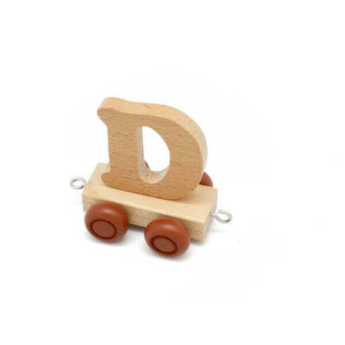 PERSONALISED WOODEN NAME TRAIN_D