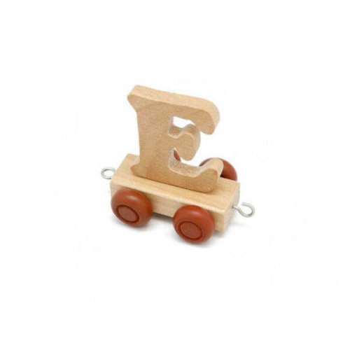 PERSONALISED WOODEN NAME TRAIN_E