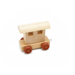 PERSONALISED WOODEN NAME TRAIN_END CARRIAGE