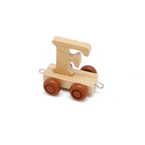 PERSONALISED WOODEN NAME TRAIN_F