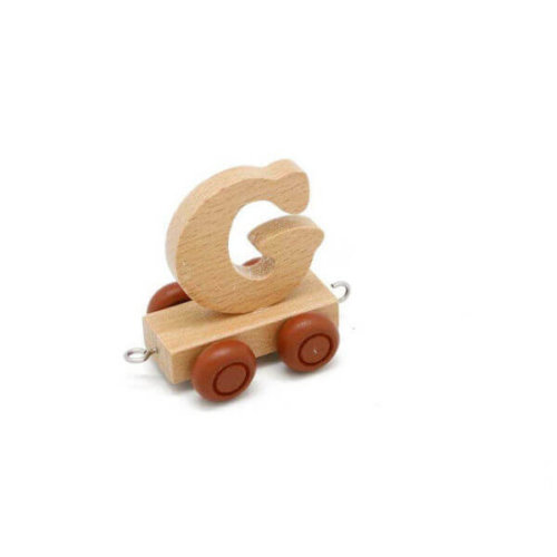 PERSONALISED WOODEN NAME TRAIN_G