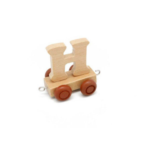 PERSONALISED WOODEN NAME TRAIN_H