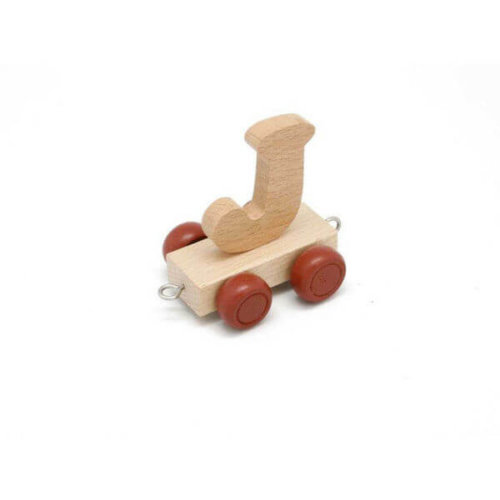 PERSONALISED WOODEN NAME TRAIN_J