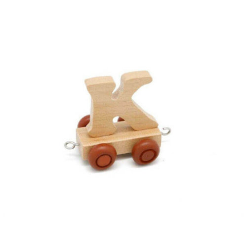 PERSONALISED WOODEN NAME TRAIN_K