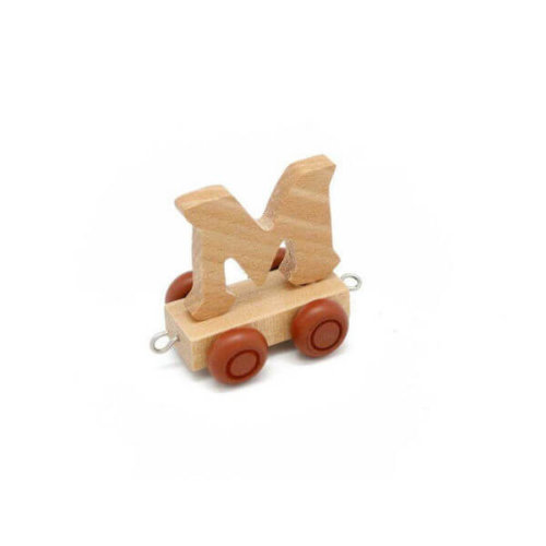 PERSONALISED WOODEN NAME TRAIN_M
