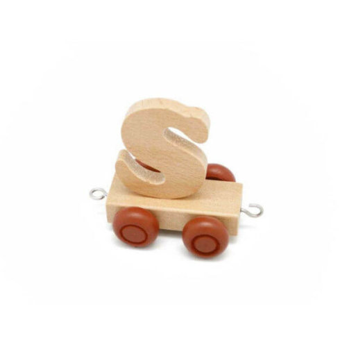 PERSONALISED WOODEN NAME TRAIN_S