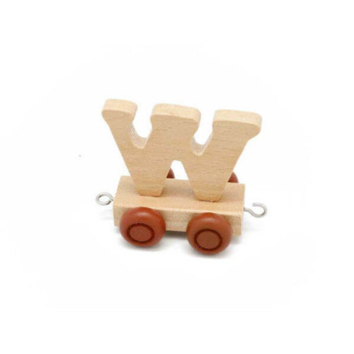 PERSONALISED WOODEN NAME TRAIN_W