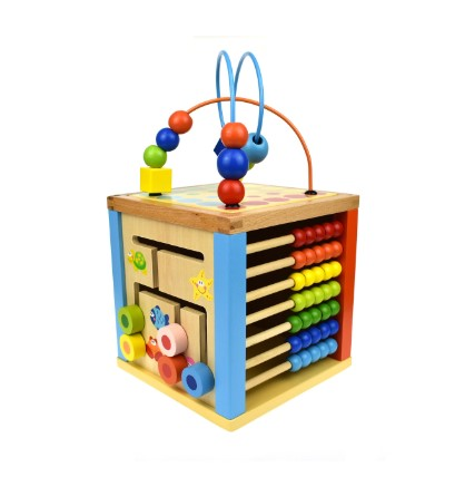 5 in 1 activity cube