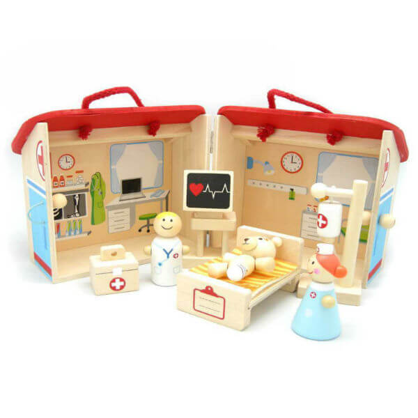 HOSPITAL PLAYSET WITH FREE SHIPPING