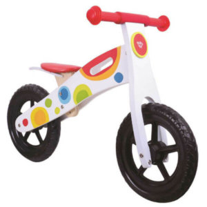 TOOKY TOY WOODEN BALANCE BIKE