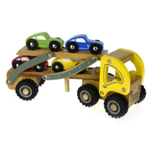 WOODEN CAR CARRIER TRUCK