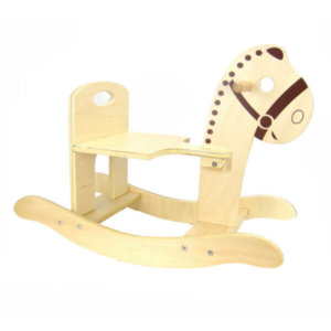 WOODEN ROCKING HORSE WITH FREE DELIVERY