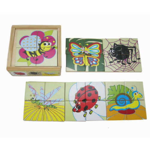 KAPER KIDZ INSECT WOODEN PUZZLE BOX