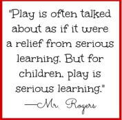 BABIES AND CHILDREN LEARN THROUGH PLAY