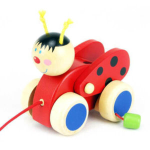 LADYBIRD PULL ALONG TOY
