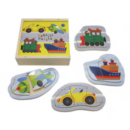 TRANSPORT PUZZLE BOX (4 IN 1)