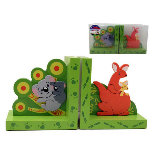 KOALA AND KANGAROO BOOKENDS