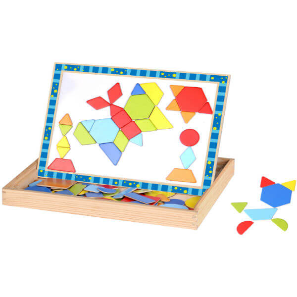 MAGNETIC SHAPES ACTIVITY BOX
