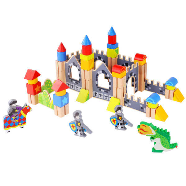 KNIGHTS & CASTLE BUILDING PLAYSET