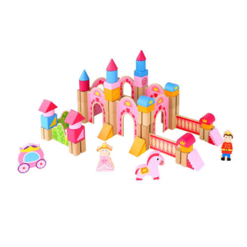 PRINCESS CASTLE BLOCK PLAYSET
