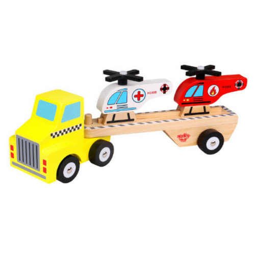 RESCUE HELICOPTER TRUCK