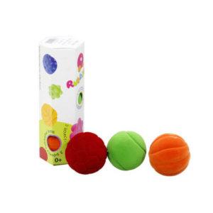 SET OF 3 RUBBABU BOUNCY BALLS