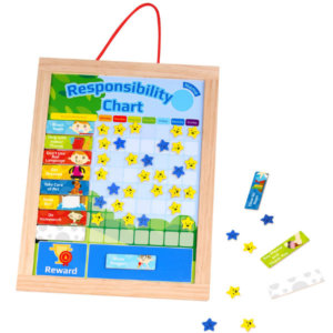 KIDS RESPONSIBILITY AND STAR REWARD CHART