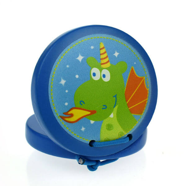 It's great fun for young children to make music with this super cute WOODEN DRAGON CASTANET