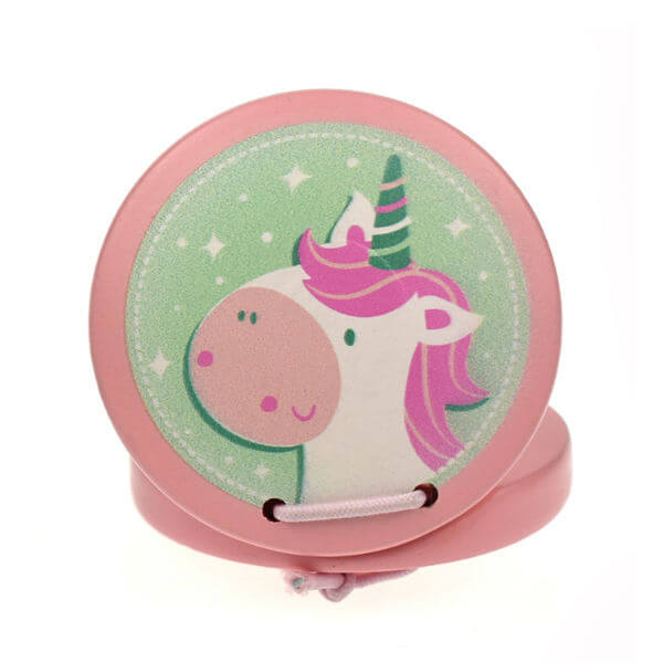 WOODEN UNICORN CASTANET