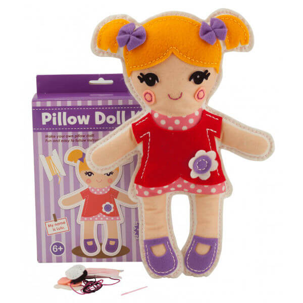 LULU PILLOW DOLL CRAFT KIT