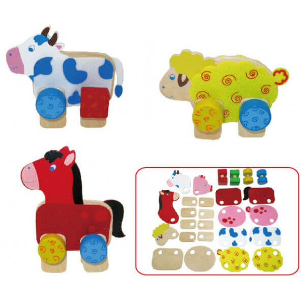 FARM ANIMAL CONSTRUCTION SET