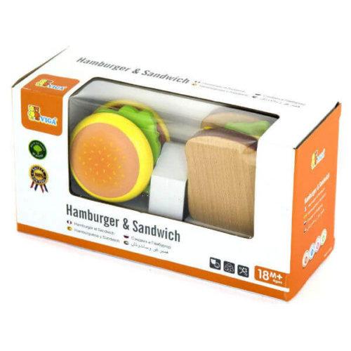 HAMBURGER AND SANDWICH SET