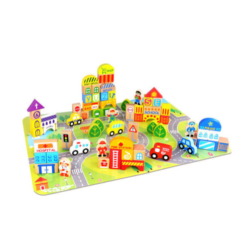 CITY BLOCK SET - 100 PIECES