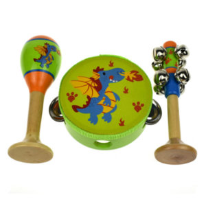 DRAGON DESIGN 3 PIECE MUSIC SET_1