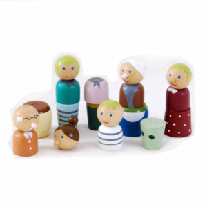 MAGNETIC DOLL FAMILY