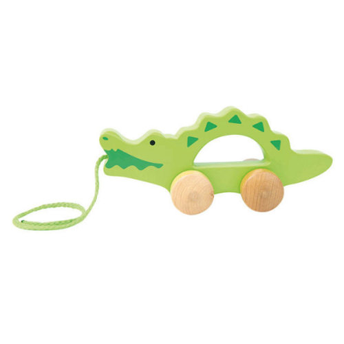 CROCODILE PUSH AND PULL TOY