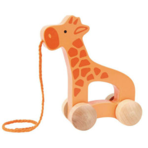 GIRAFFE PUSH AND PULL TOY