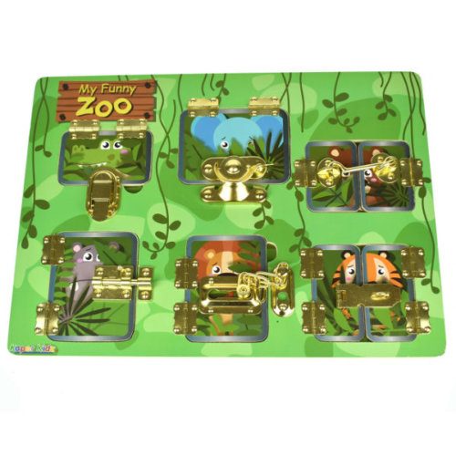 MY FUNNY ZOO LATCHES PUZZLE