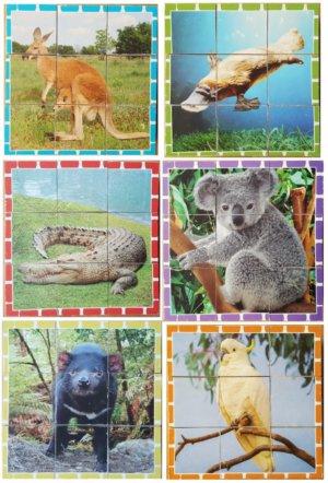 Australian Animal Cube Puzzle
