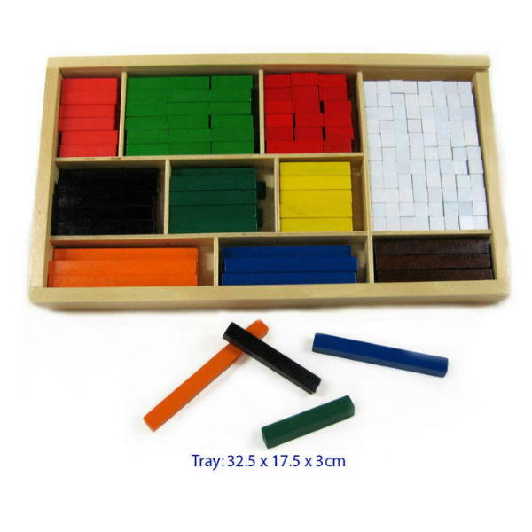 FUN FACTORY WOODEN CUISENAIRE RODS