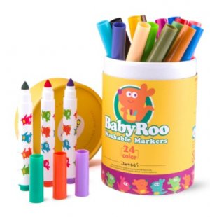 Washable Markers Baby Roo 24 Colours