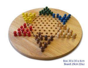 CHINESE CHECKERS 30CM