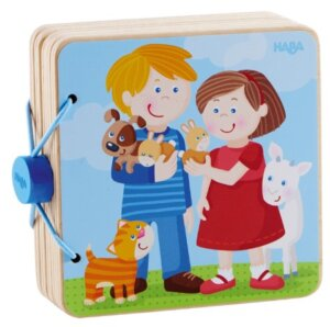 Haba Wooden Book Baby Animals