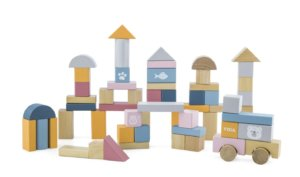 POLARB WOODEN BLOCKS 60 PC