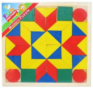 Classic Wooden Mosaic Puzzle